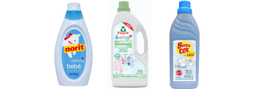 detergente liquido bebe