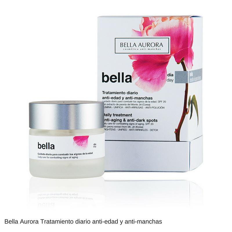 01.- Bella Aurora Tratamiento diario anti-edad y anti-manchas